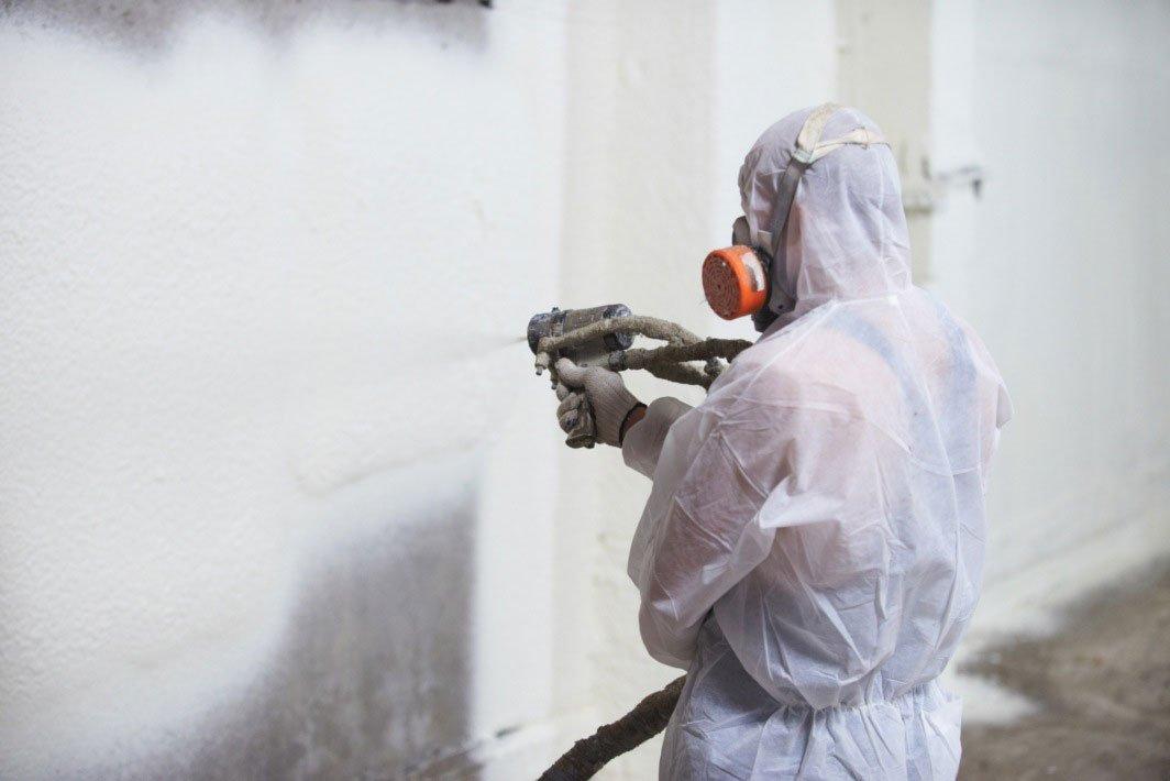 poliuretano pūtimas ant betono